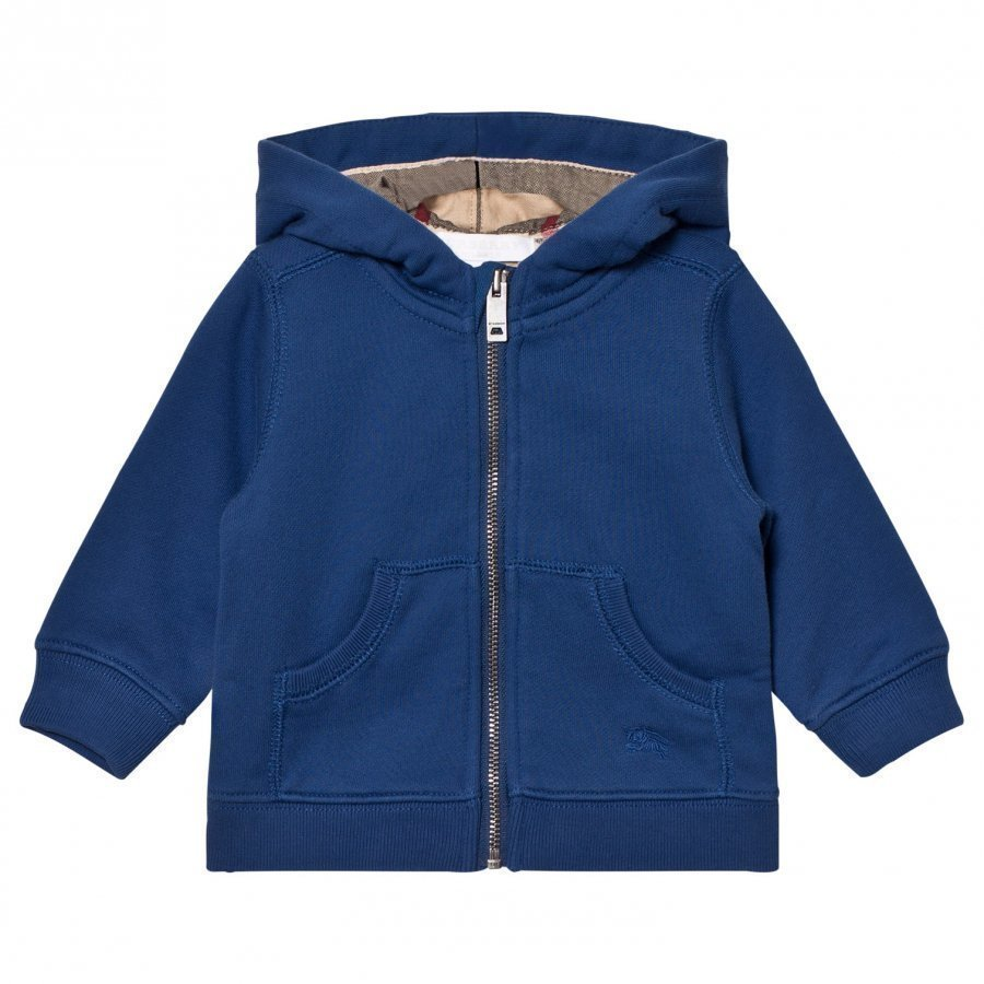 Burberry Mini Pearce Hoodie Marine Blue Huppari