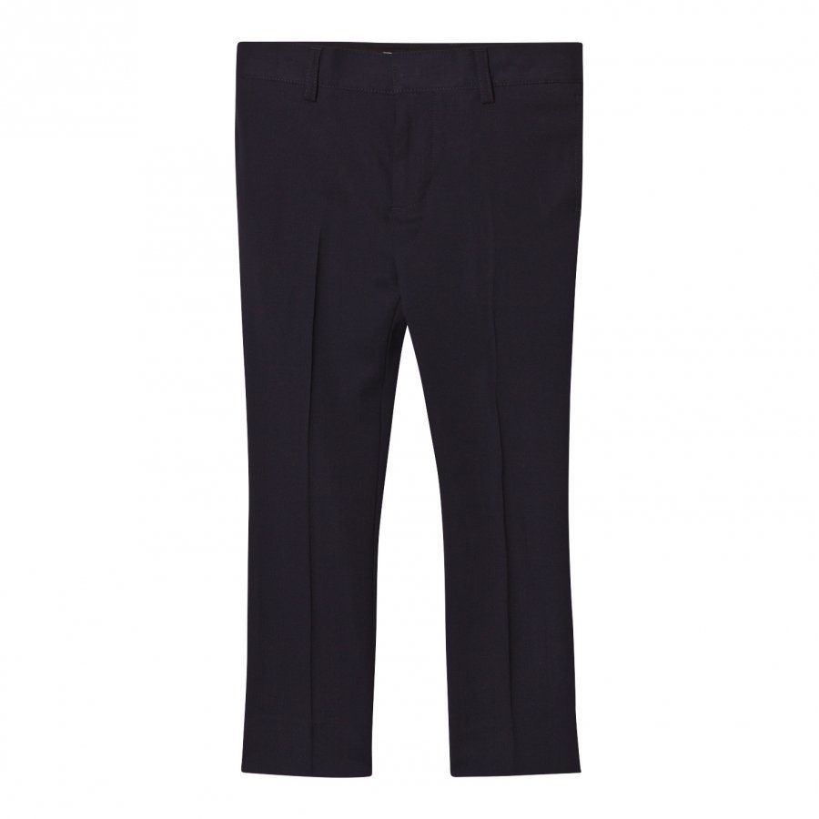 Burberry Navy Cool Wool Suit Trousers Puvunhousut