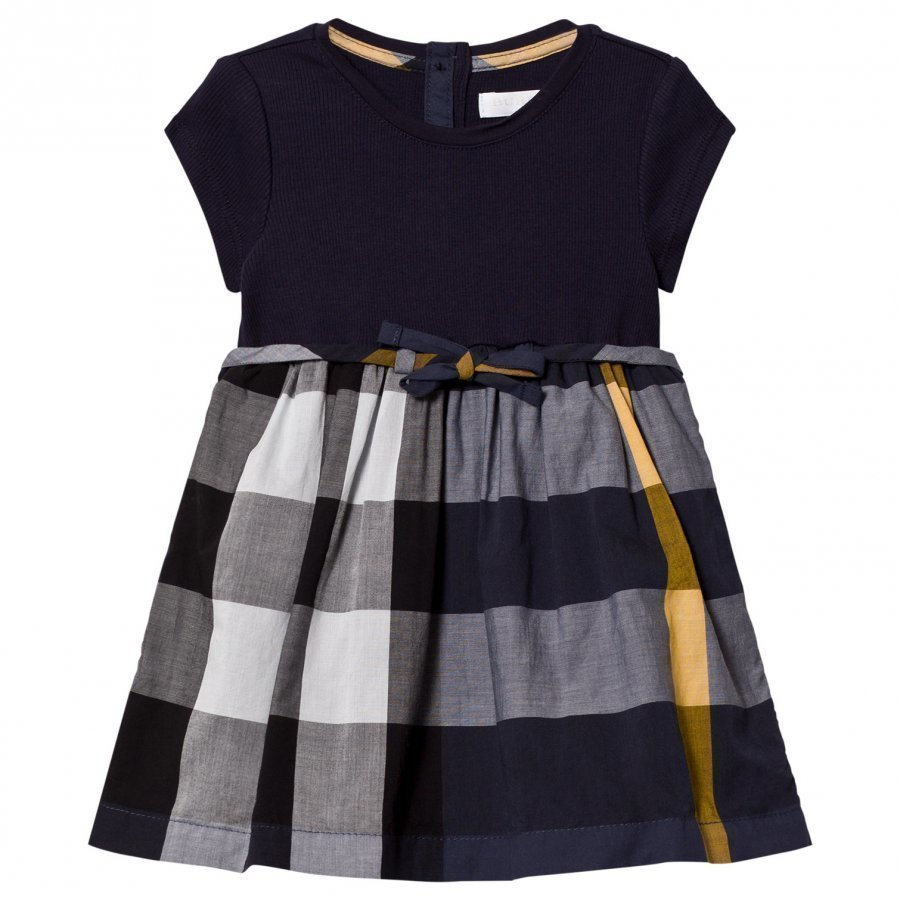 Burberry Navy Jersey T-Shirt Dress Mekko