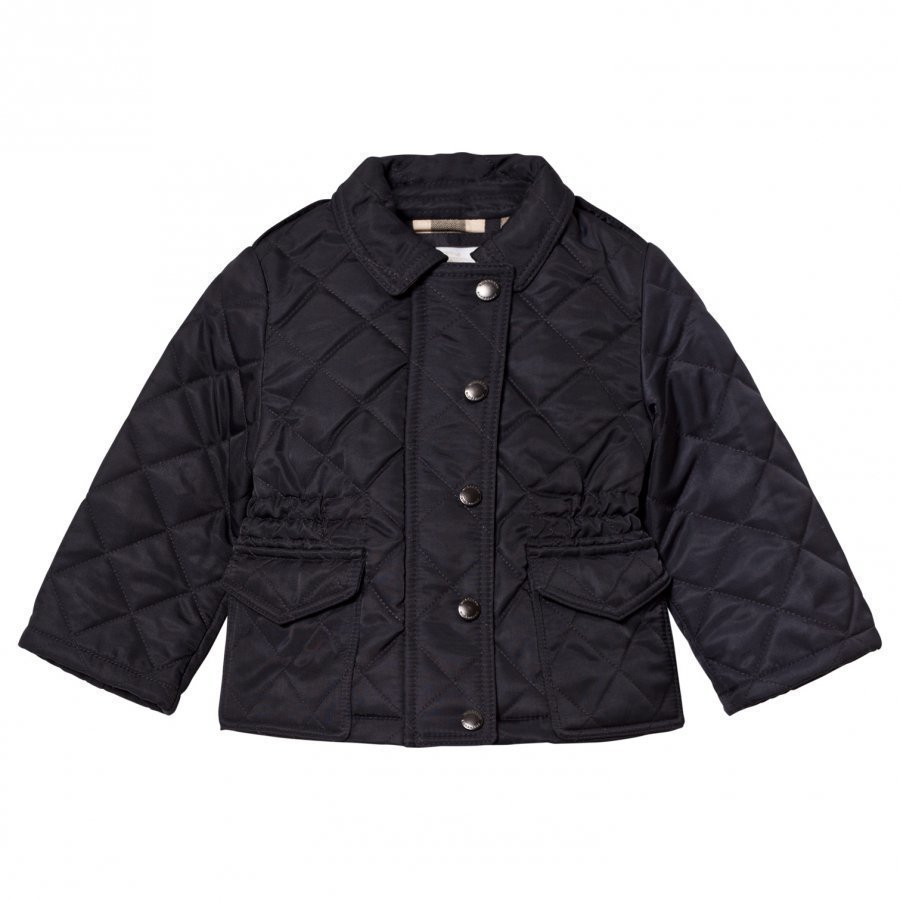 Burberry Navy Quilted Jacket Tikkitakki