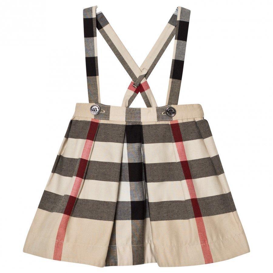 Burberry Strap Check Sofia Skirt Kellohame