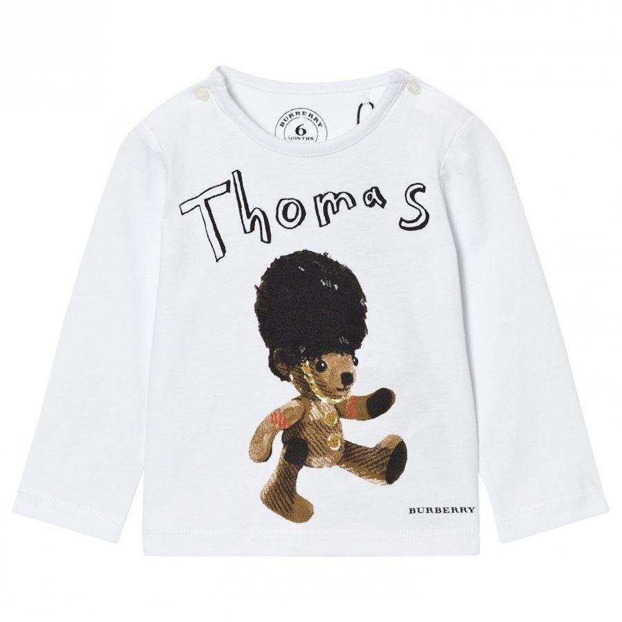 Burberry Thomas Bear Print Tee White T-Paita