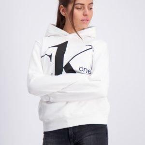 Calvin Klein Ck One Hoodie Huppari Valkoinen
