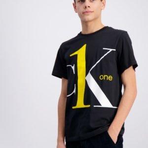 Calvin Klein Ck One Ss T Shirt T-Paita Musta
