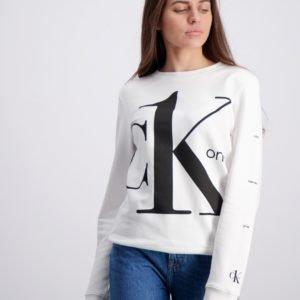 Calvin Klein Ck One Sweatshirt Neule Valkoinen