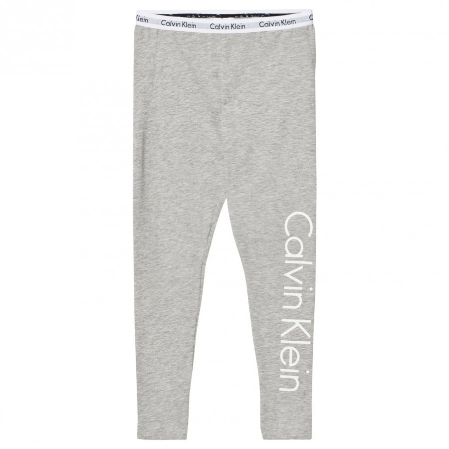 Calvin Klein Grey Branded Leggings Yöpuku