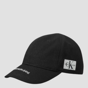 Calvin Klein Institutional Logo Cap Lippis Musta