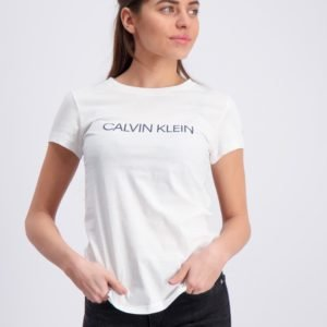 Calvin Klein Institutional Slim T Shirt T-Paita Valkoinen