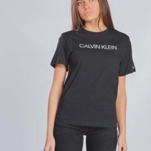 Calvin Klein Institutional T Shirt T-Paita Musta