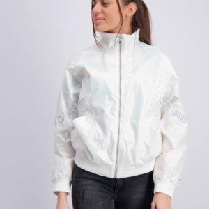 Calvin Klein Iridescent Jacket Takki Valkoinen