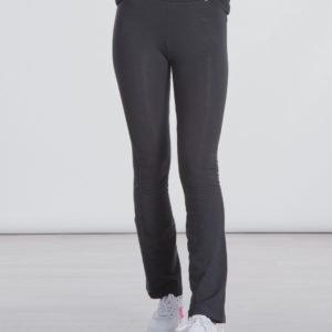 Calvin Klein Logo Waistband Flare Legging Leggingsit Musta