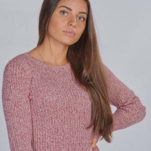 Calvin Klein Lurex Rib Sweater Neule Punainen