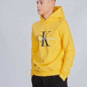 Calvin Klein Monogram Hoodie Huppari Keltainen