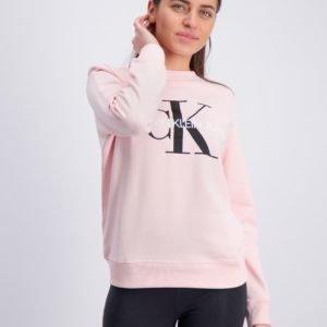 Calvin Klein Monogram Logo Sweatshirt Neule Vaaleanpunainen
