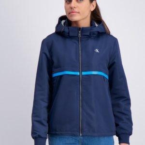 Calvin Klein Monogram Stripe Jacket Takki Sininen