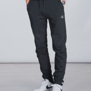 Calvin Klein Monogram Sweatpants Collegehousut Musta