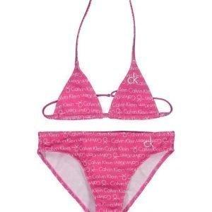 Calvin Klein Print Triangle Bikinit