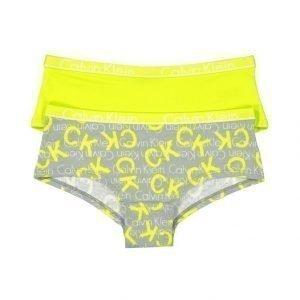 Calvin Klein Shorty Alushousut 2 Pack