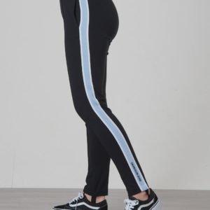 Calvin Klein Side Stripe Punto Pants Housut Musta