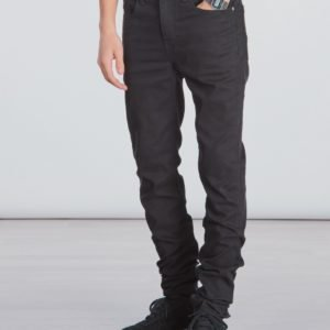 Calvin Klein Skinny Sust Black Stretch Farkut Musta