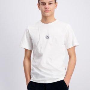 Calvin Klein Small Ck One Ss T Shirt T-Paita Valkoinen