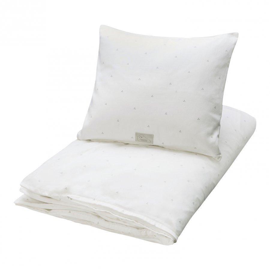 Cam Cam Organic Baby Bedding Dot Cream Pussilakanasetti