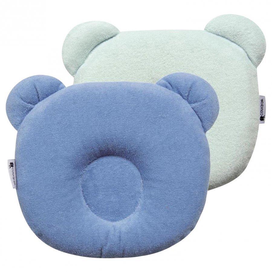 Candide Panda Baby Pillow Blue Tyyny