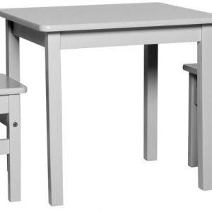 Carena Björkö Pöytä ja kaksi tuolia Harmaa