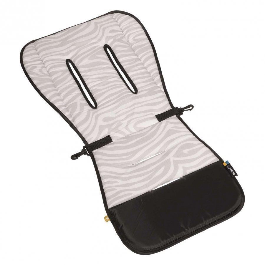 Carena Gräsö Seat Liner Zebra Grey Istuintyyny