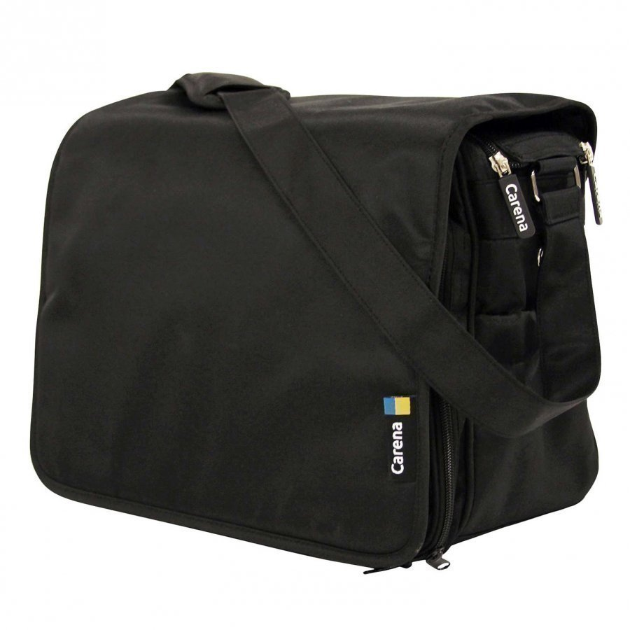 Carena Koster Changing Messenger Bag Black Hoitolaukku
