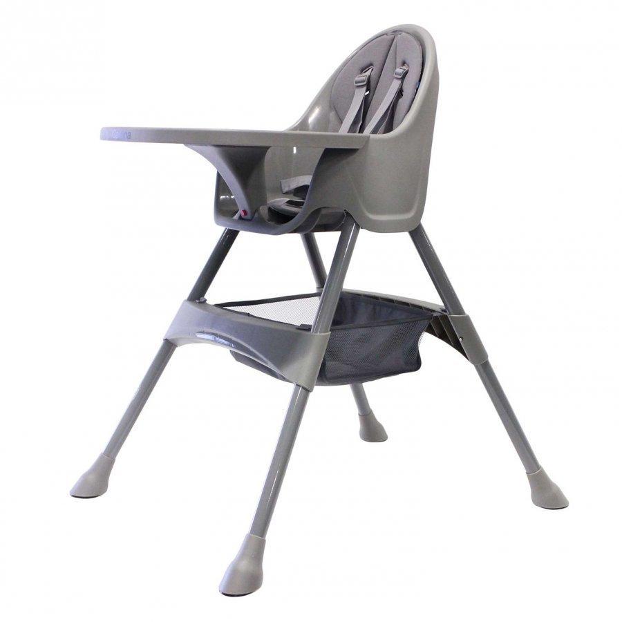 Carena Matvik High Chair With Tray Grey Syöttötuoli