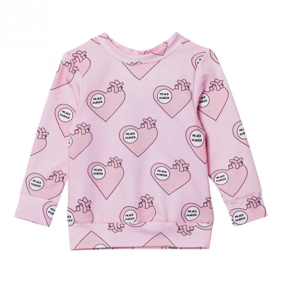 Caroline Bosmans Hope 2.0 Sweatshirt Fleece Peace Maker Oloasun Paita