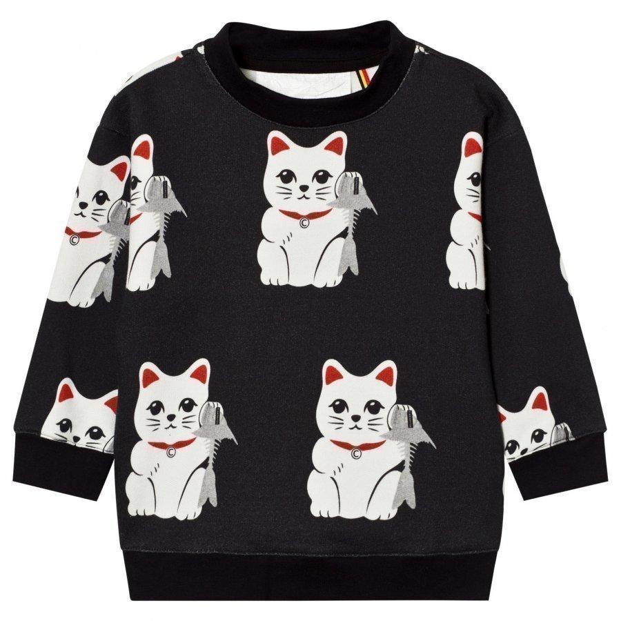 Caroline Bosmans Sweatshirt Fleece Lucky Burp Oloasun Paita