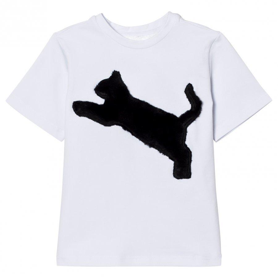 Caroline Bosmans T-Shirt Cat Black T-Paita