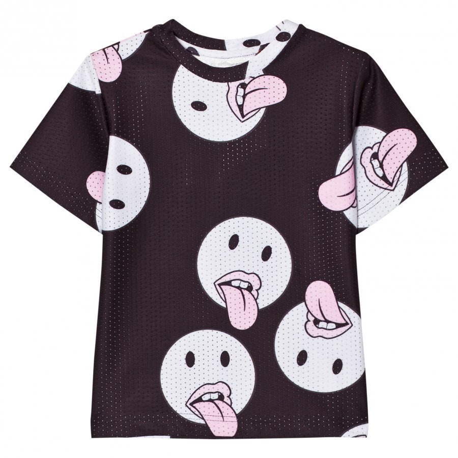 Caroline Bosmans T-Shirt Poly Emotitongue T-Paita