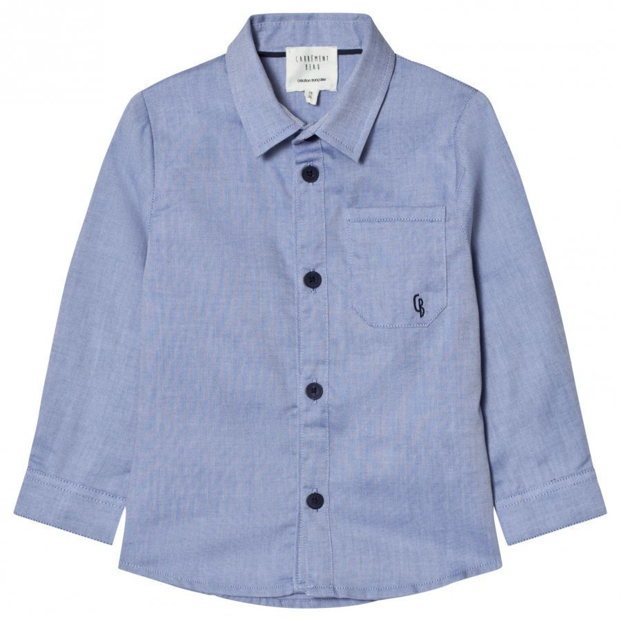 Carrément Beau Blue Oxford Shirt Kauluspaita