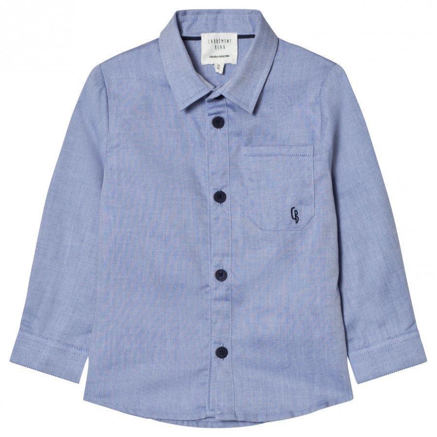Carrément Beau Blue Oxford Shirt Kauluspaita