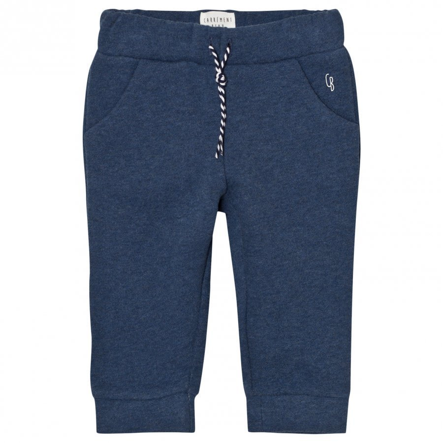 Carrément Beau Blue Washed Sweat Pants Verryttelyhousut