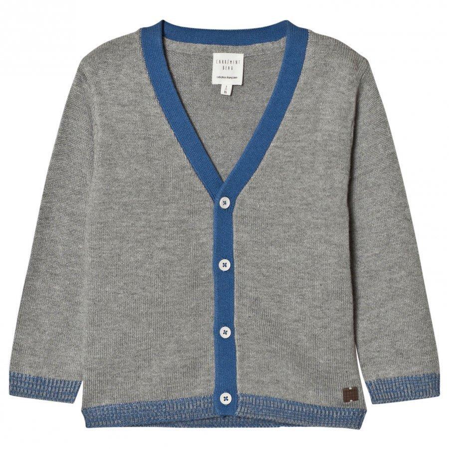 Carrément Beau Grey Knit Cardigan Neuletakki