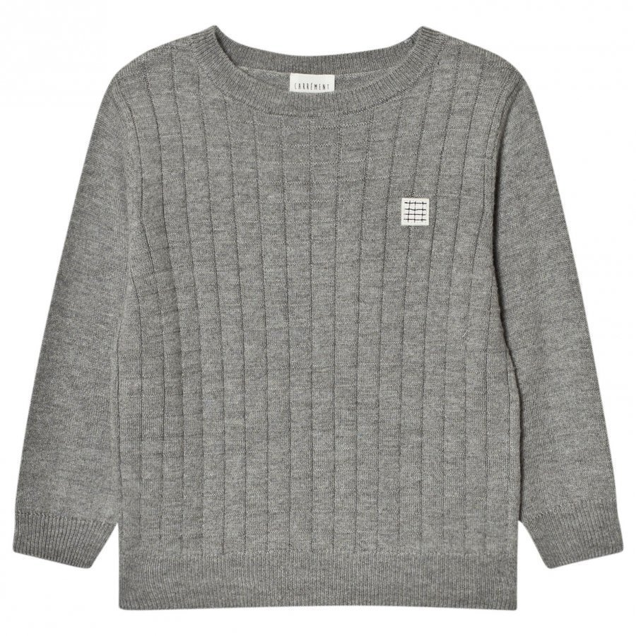Carrément Beau Grey Knit Sweater Paita