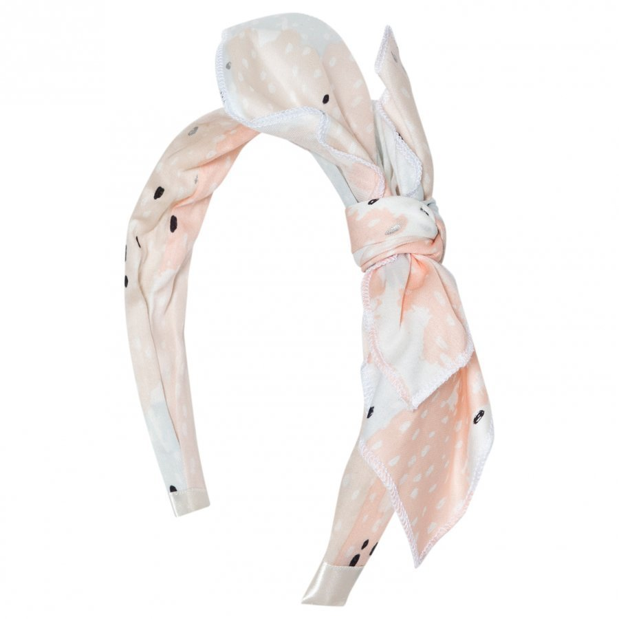 Carrément Beau Multi Printed Bow Headband Hiuspanta