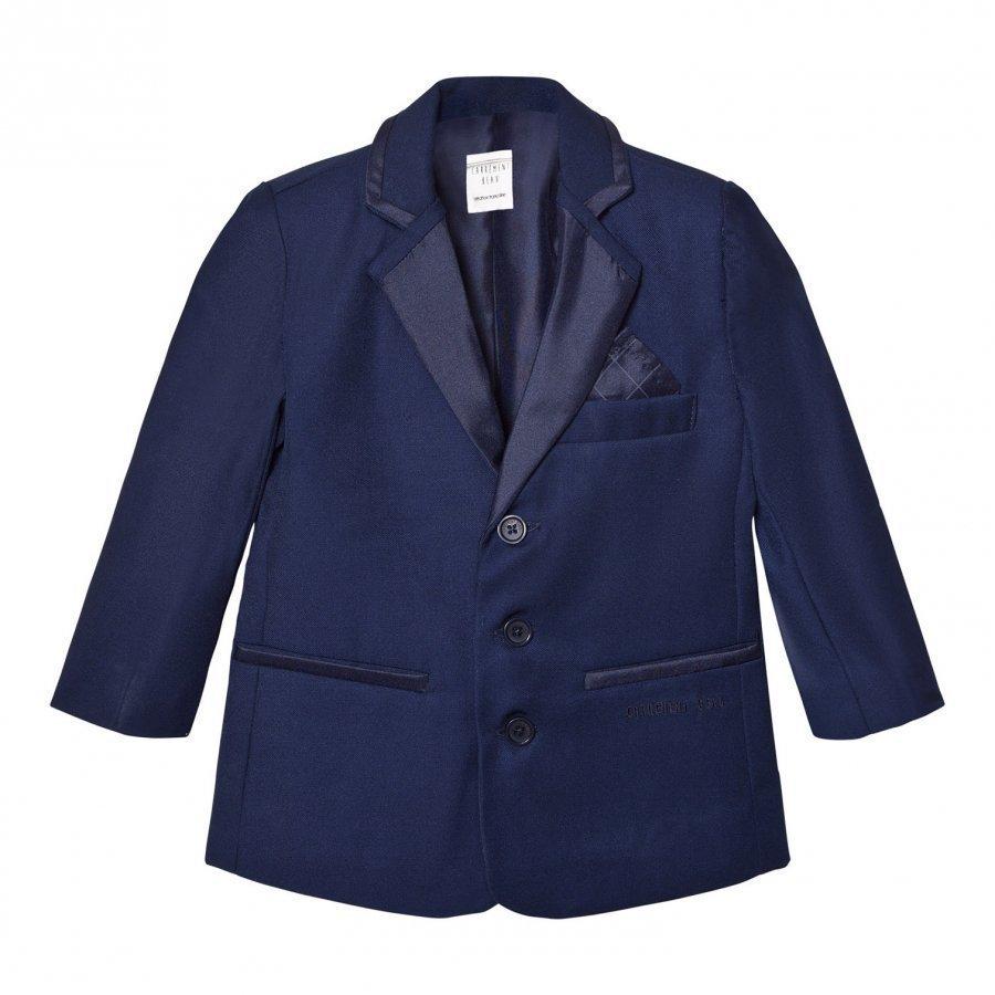 Carrément Beau Navy Suit Jacket Bleiseri