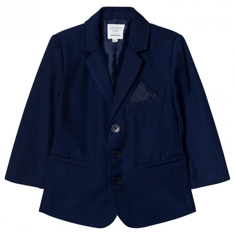 Carrément Beau Navy Suit Jacket Puvuntakki