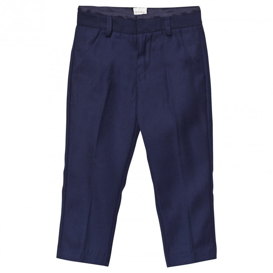 Carrément Beau Navy Suit Trousers Puvunhousut