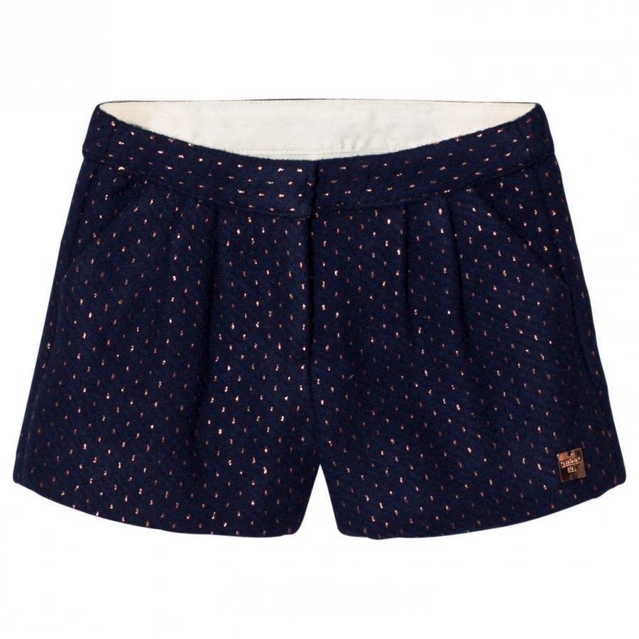 Carrément Beau Navy/Rose Gold Shorts Juhlashortsit