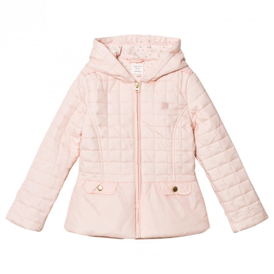 Carrément Beau Pink Quilted Jacket Toppatakki