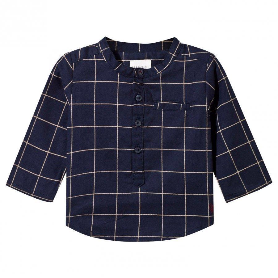 Carrément Beau Shirt Navy Kauluspaita