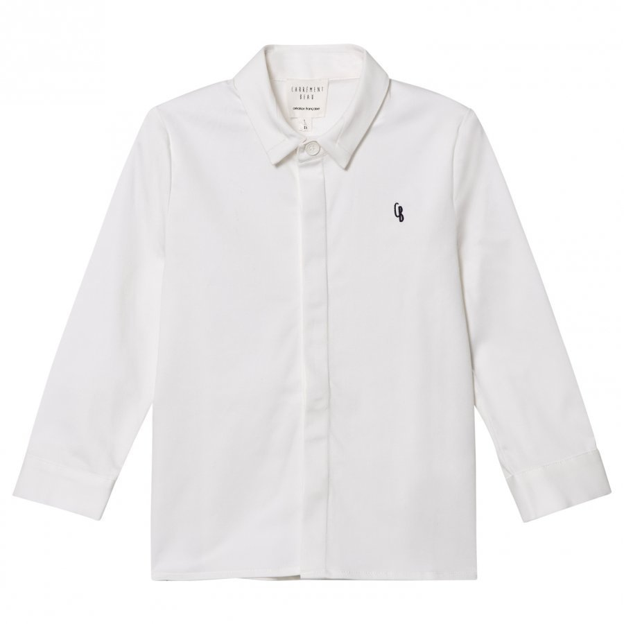 Carrément Beau White Button Down Oxford Shirt Kauluspaita
