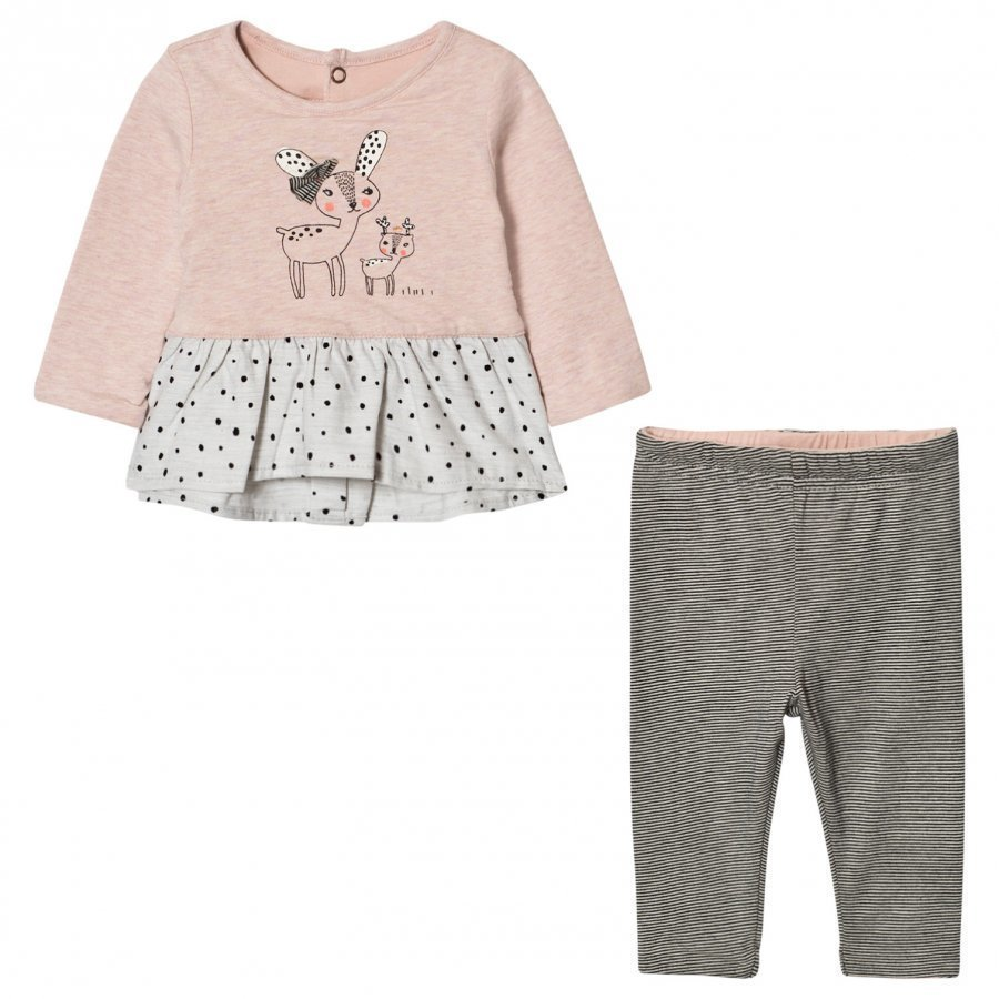 Catimini Deer Top And Leggings Set Asusetti