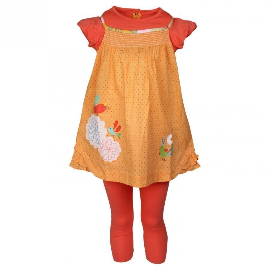 Catimini Dress Apricot Mekko